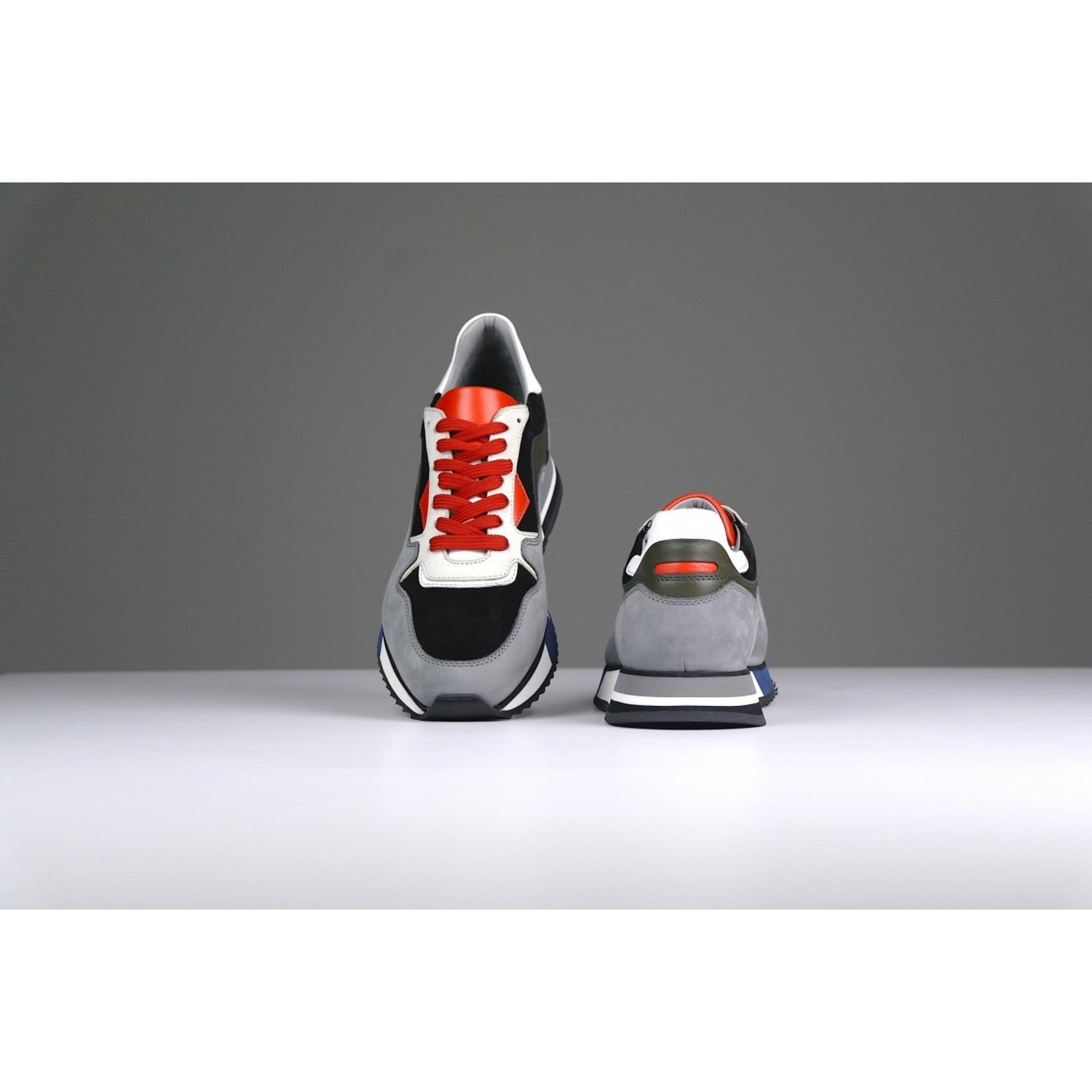 H32 Mello sneaker grijs zwart wit