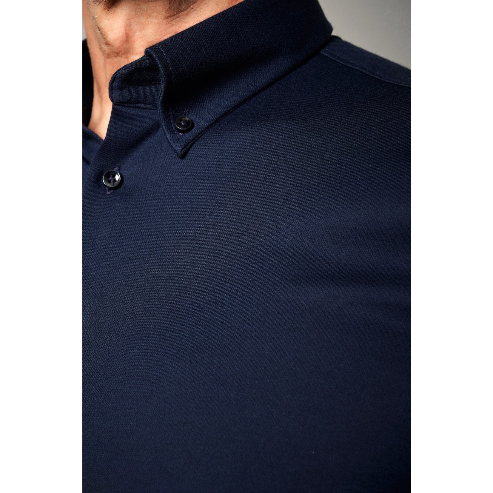 Desoto Luxury jersey overhemd marine
