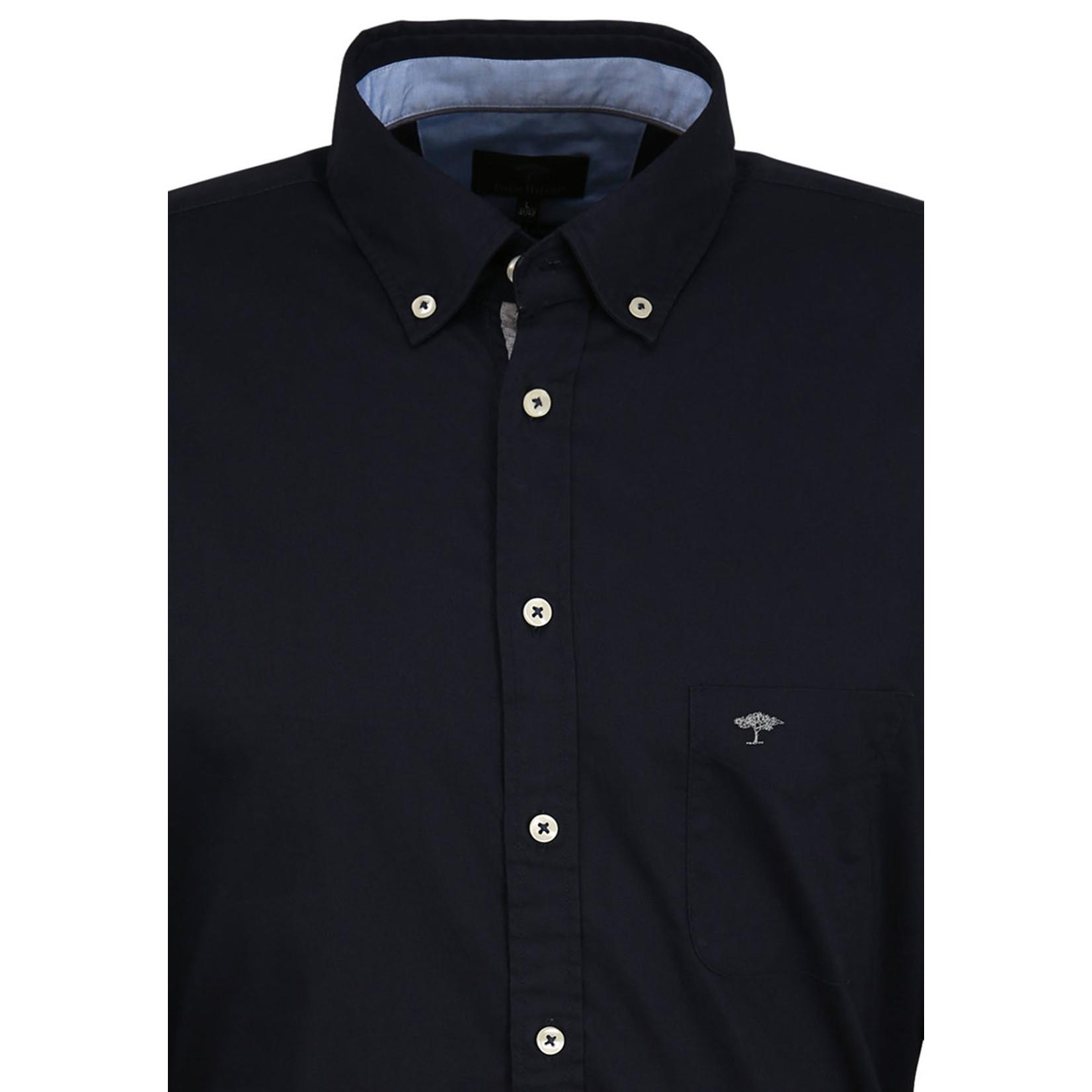 Fynch-Hatton regular fit overhemd marine