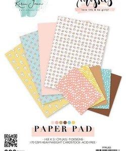 Studio Light Karin Joan Paper Pad A5 Missees nr. 03