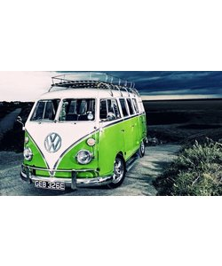 Diamond Painting 30x40cm. Volkswagenbus