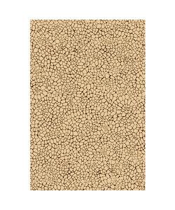 Vel Decopatch papier craquelé beige bruin