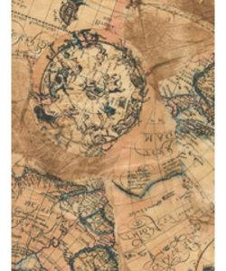 Vel Decopatch papier papier astrologie landkaart