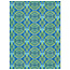 Decopatch Vel Decopatch papier blauw groen patroon
