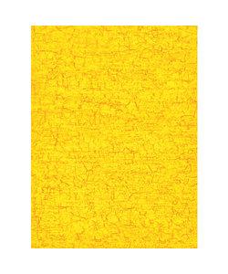 Vel Decopatch papier Craquelé fijn geel/oranje