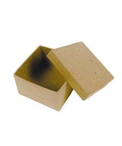 Decopatch Mini Doosje Vierkant 4,5x4,5x3cm.