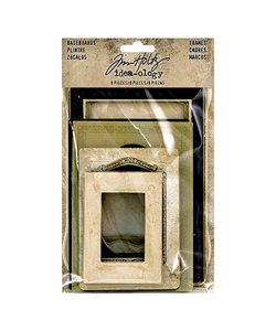 Tim Holtz Idea-Ology Baseboard frames 8 pcs.
