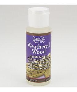 Americana Crackle Medium 59ml Weathered Wood