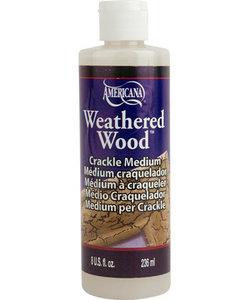 Americana Decor Crackle Medium 236m Weathered Wood
