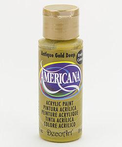 Americana Decor Acryl 59ml Antique Gold Deep