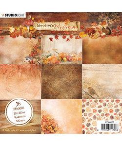 Studio Light Paper Pad Wonderful Autumn nr. 150