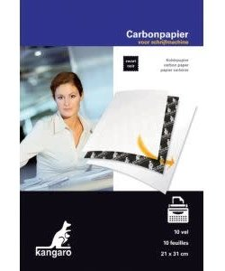 Carbonpapier Zwart 10st A4