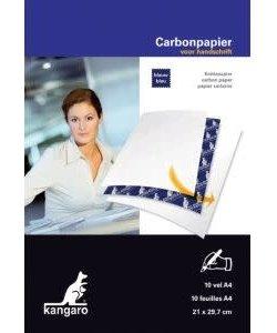 Carbonpapier Blauw 10st A4