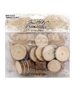 Tim Holtz Idea-ology Wood slices 20 pcs