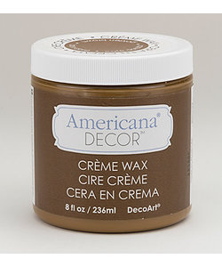 Americana Decor Creme Wax 236ml Golden Brown