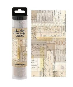 Tim Holtz Idea-Ology Collage paper Typograpy