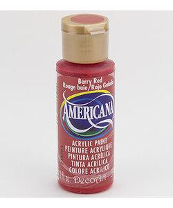 Americana Decor Acryl 59ml Berry Red