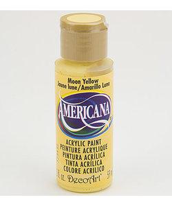 Americana Decor Acryl 59ml Moon Yellow