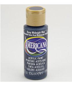 Americana Decor Acryl 59ml Deep Midnight Blue