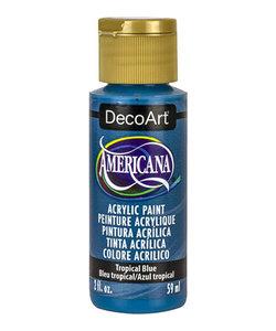 Americana Decor Acryl 59ml Tropical Blue