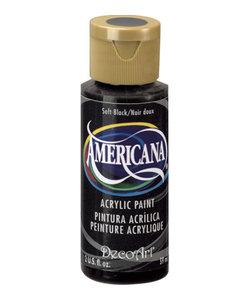 Americana Decor Acryl 59ml Soft Black