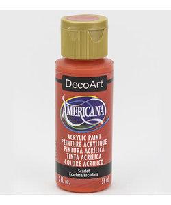Americana Decor Acryl 59ml Scarlet