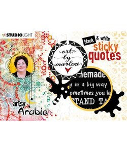 Studio Light Sticker Quotes Artsy Arabia nr. 03