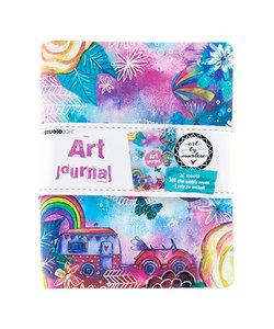 Studio Light  journal Art By Marlene ringb. 19x15