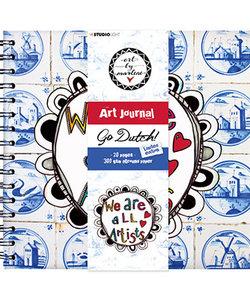 Studio Light  journal Art By Marlene ringb. 21x20