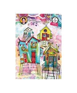 Allround Paper pad Watercolor 300 gr. A4 Essentials nr. 1 BM01 20 vel