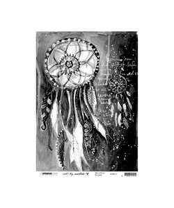 Studio Light Rice Paper 200x276mm Art by Marlene