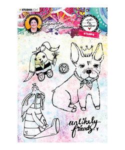 Studio Light Stempel Hond Konijnen Art by Marlene