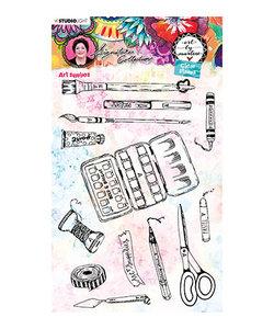 Studio Light Stempel Art supplies Art by Marlene