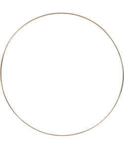 Spanring Rond 30cm 3mm Goud