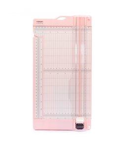 Vaessen Creative Paper Trimmer & Scoring 15x30,5cm Roze