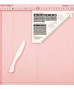 Vaessen Creative Scoring Board 30,5x30,5cm Roze