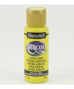 Americana Decor Acryl 59ml Chartreuse Yellow
