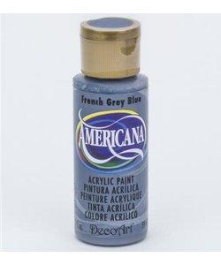 Americana Decor Acryl 59ml French Grey Blue