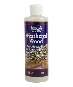 DecoArt Weathered Wood Crackle Medium 236ml