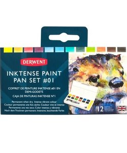 Derwent Paint Pan Travel set Inktense 01 12 pcs.