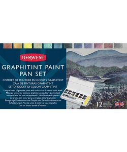 Derwent Graphitint Paint Pan Set 12st