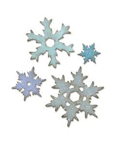 Sizzix Bigz L Die Tim Holtz Stacked Snowflakes