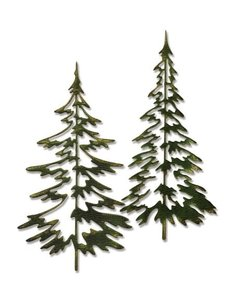 Sizzix Thinlits Die Set Tim Holtz Woodland Trees