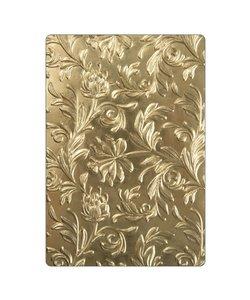 Sizzx Tim Holtz 3-D Texture Fades Embossing Folder Botanical