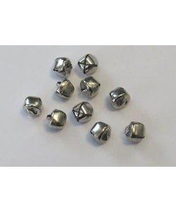 Belletjes 12mm Zilver 10st