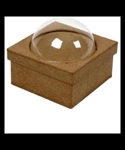 Blisterdoos, afm 10x10 cm, h: 4,5 cm,