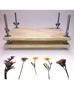Bloemenpers 30 x 20 cm. multiplex