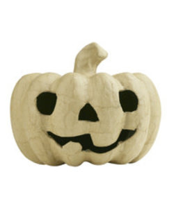 Decopatch Papier Mache Pompoen Halloween 12 cm