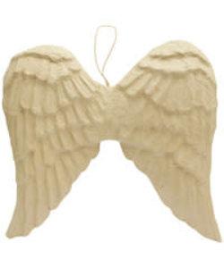 Decopatch Papier Mache Vleugels om op te hangen L  8,5x54x50 cm