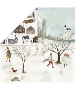 Craft&You Papier Winter Holiday 12x12'' nr. 02